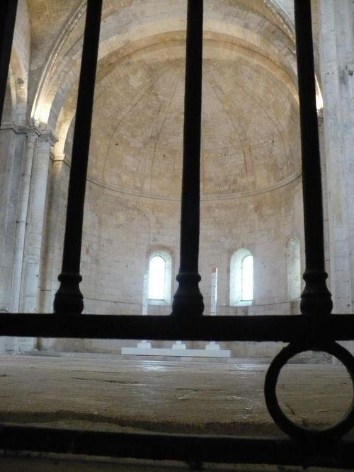 Grille de l'abbaye de Montmajour